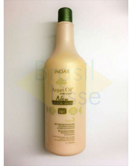 Masque Argan Oil Smoothing System Inoar 1 L