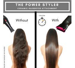 Paire d'embouts céramique pour sèche-cheveux The Power Styler by Daroko 4 couleurs au choix