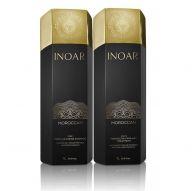 Kit lissage brésilien Inoar Marroquino shampooing clarifiant (N° 1) & Tratamento Capilar (N° 2) 2x1 L