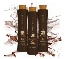 Kit de lissage brésilien Coffee Premium All Liss 3 x 1 L