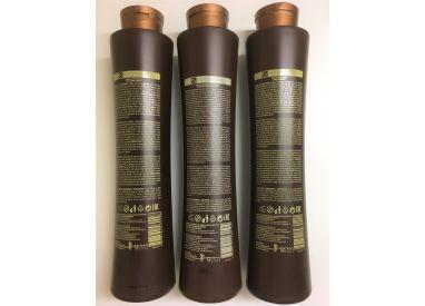Kit de lissage brésilien Coffee Premium All Liss 3 x 1 L (verso)
