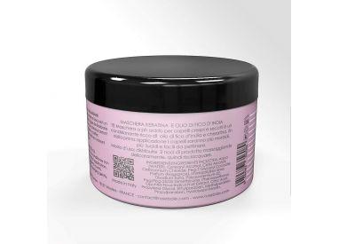 Masque Keratine et Huile de Figue de Barabarie RoseBaie 500 ml (verso)