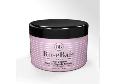 Masque Keratine et Huile de Figue de Barabarie RoseBaie 500 ml (recto)