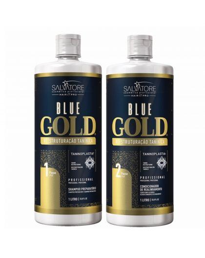Kit lissage au tanin Blue Gold Salvatore 2 x 1 L