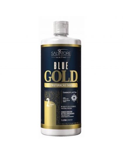 Salvatore Blue Gold N° 2 alisamento lissage au tanin 1 L
