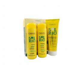 KIT HOME CARE SOL DO RIO CADIVEU 3 x 250 ml