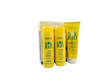 KIT HOME CARE SOL DO RIO CADIVEU 3 x 250 ml