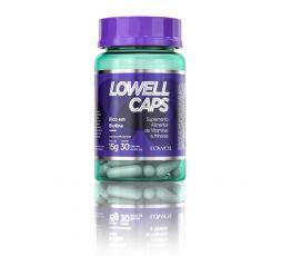 Complément alimentaire en vitamines et minéraux Lowell Caps 30 gélules