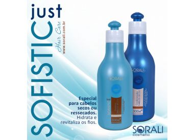 Shampooing & après-shampooing Just Sofistic Sorali 2 x 300 ml