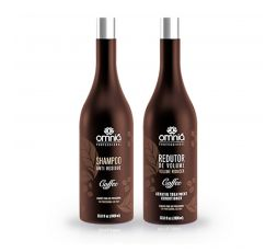 Kit lissage brésilien Coffee Omniá Professionnal 2 x 1 L