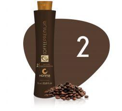 Máscara Reconstrutora Intensiva N° 2 Coffee Premium All Liss Honma Tokyo 1 L