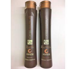 Kit de lissage brésilien Coffee Premium All Liss 2 x 500 ml Honma Tokyo