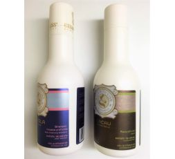 Mini kit Eternity Liss shampooing clarifiant Pérola N° 1 & lissage brésilien Cacau N° 2 2 x 250 ml