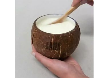 Bol noix de coco & porcelaine Lana (photo non contractuelle)