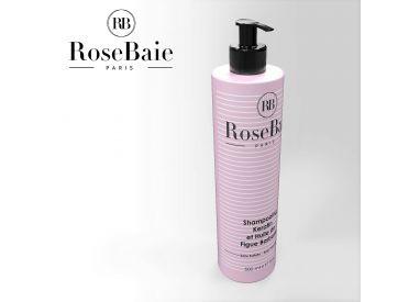 Shampooing Keratine et Huile de Figue de Barbarie RoseBaie 500 ml