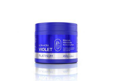 Masque hydratant anti-jaunissement Violet Platinum Lowell 450 g