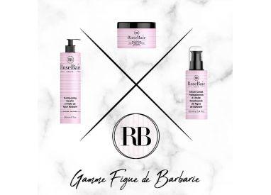 Kit kératine et huile de figue de barbarie RoseBaie 3 produits : shampooing + masque + sérum (visuel 1)