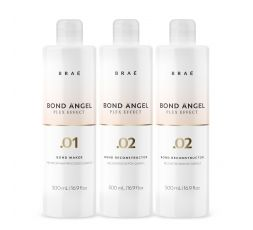 Kit professionnel Plex Effect Bond Angel Braé 3 x 500 ml (1 bouteille .01 Bond Angel + 2 bouteilles .02 Bond Angel)