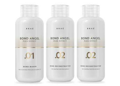 Kit Home Care Plex Effect Bond Angel Braé 3 X 100 ml