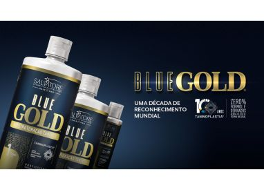 Lissage au tanin Blue Gold Salvatore Blue Gold : 10 ans