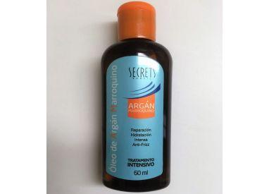 Huile d'argan Marroquino Secrets 60 ml (flacon)