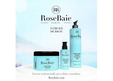 Kit kératine et huile de ricin 3 produits : shampooing (500 ml) + masque (500 ml) + sérum (100 ml) (visuel 1)