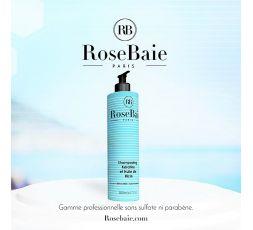 Shampooing Keratine et Huile de Ricin RoseBaie 500 ml