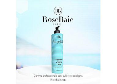 Shampooing kératine et huile de ricin RoseBaie 500 ml (visuel 1)