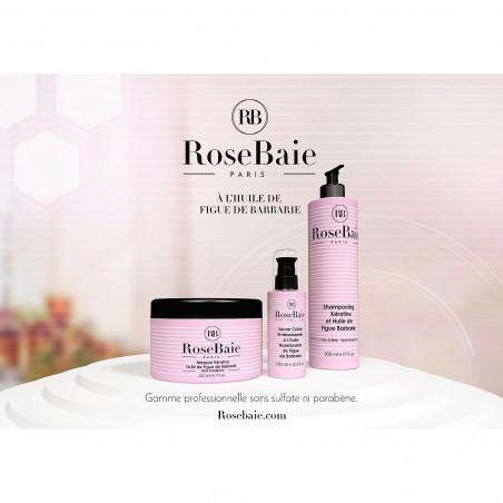 Kit kératine et huile de figue de barbarie RoseBaie 3 produits : shampooing + masque + sérum (visuel 2)