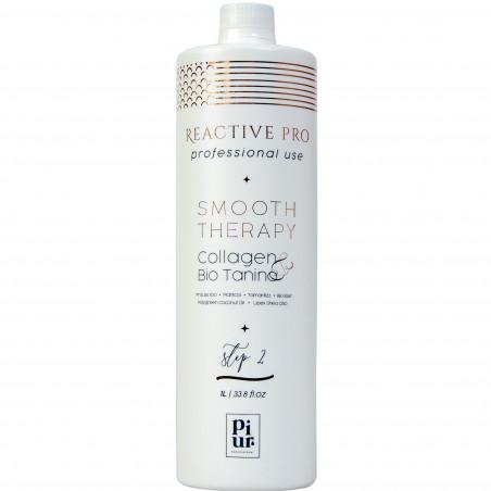 Lissage brésilien collagène & bio tanin Smooth Therapy N° 2 Piur 1 L